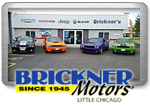 Brickner Motors Dealership Website